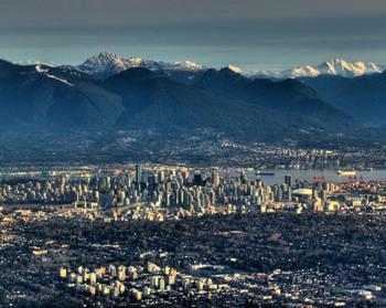 Живописный фон Ванкувера, Канада