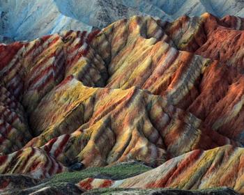 Ослепительная гора Данься, провинция Гуандун, Китай