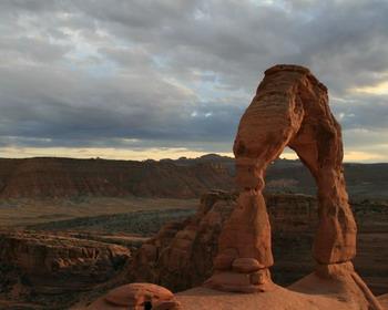 «Изящная арка», штат Юта, США