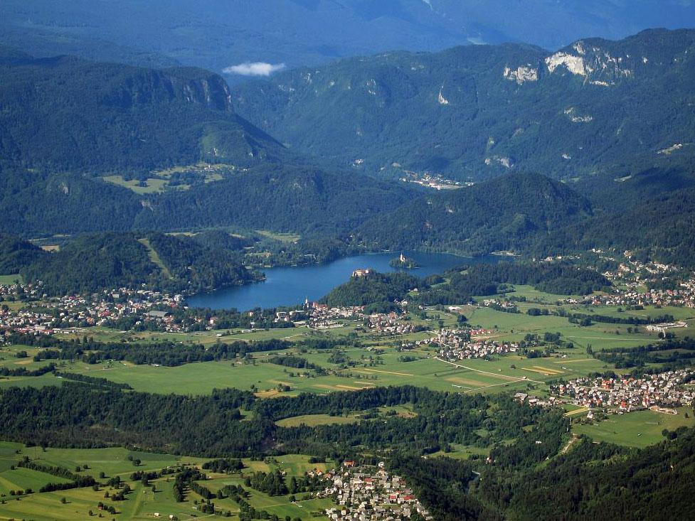 Бледское озеро, Словения