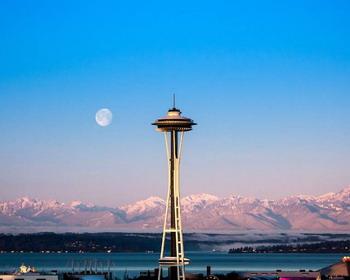 «Космическая игла» (Space Needle), Сиэтл, США