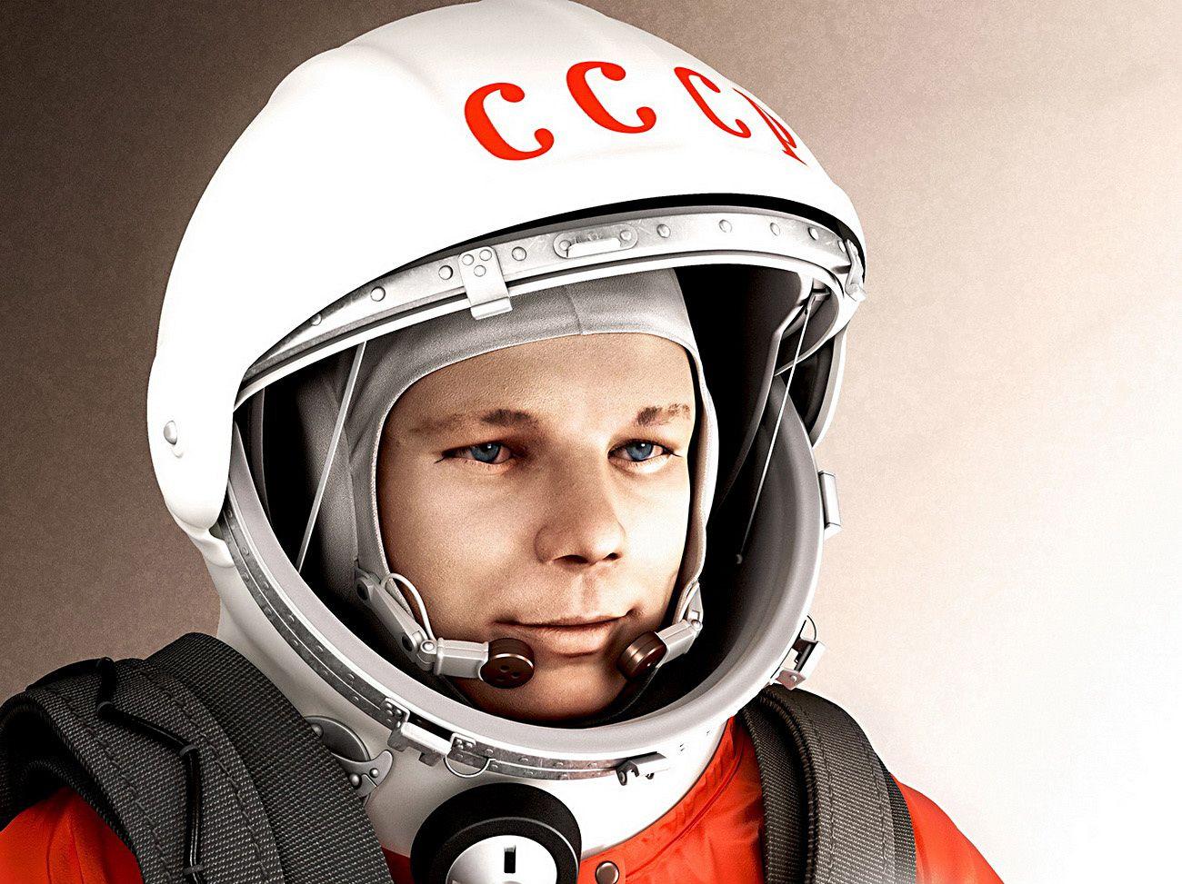 Ю. А. Гагарин впервые в мире совершил орбитальный облёт планеты Земля