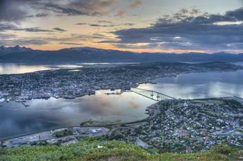 Город - коммуна Тромсё, Норвегия