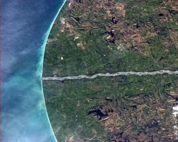Невероятная геометрия Южного острова, Новая Зеландия