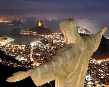 Статуя Христа-Искупителя, Рио-де-Жанейро, Бразилия