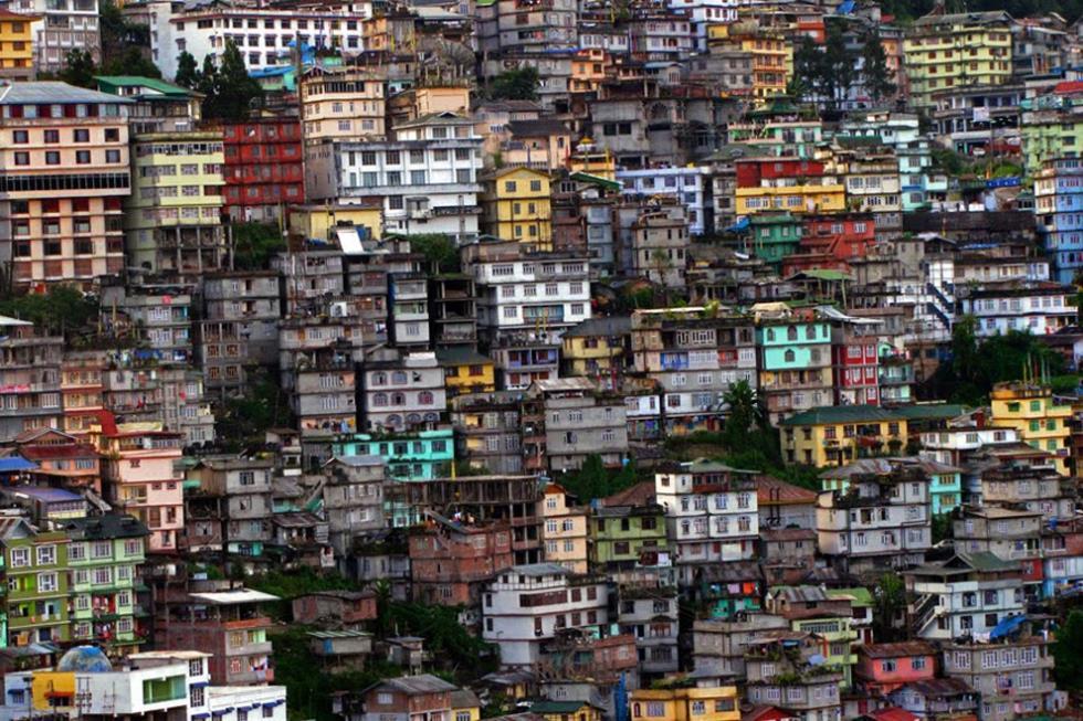 Вертикальный образ жизни, Гангток, Индия