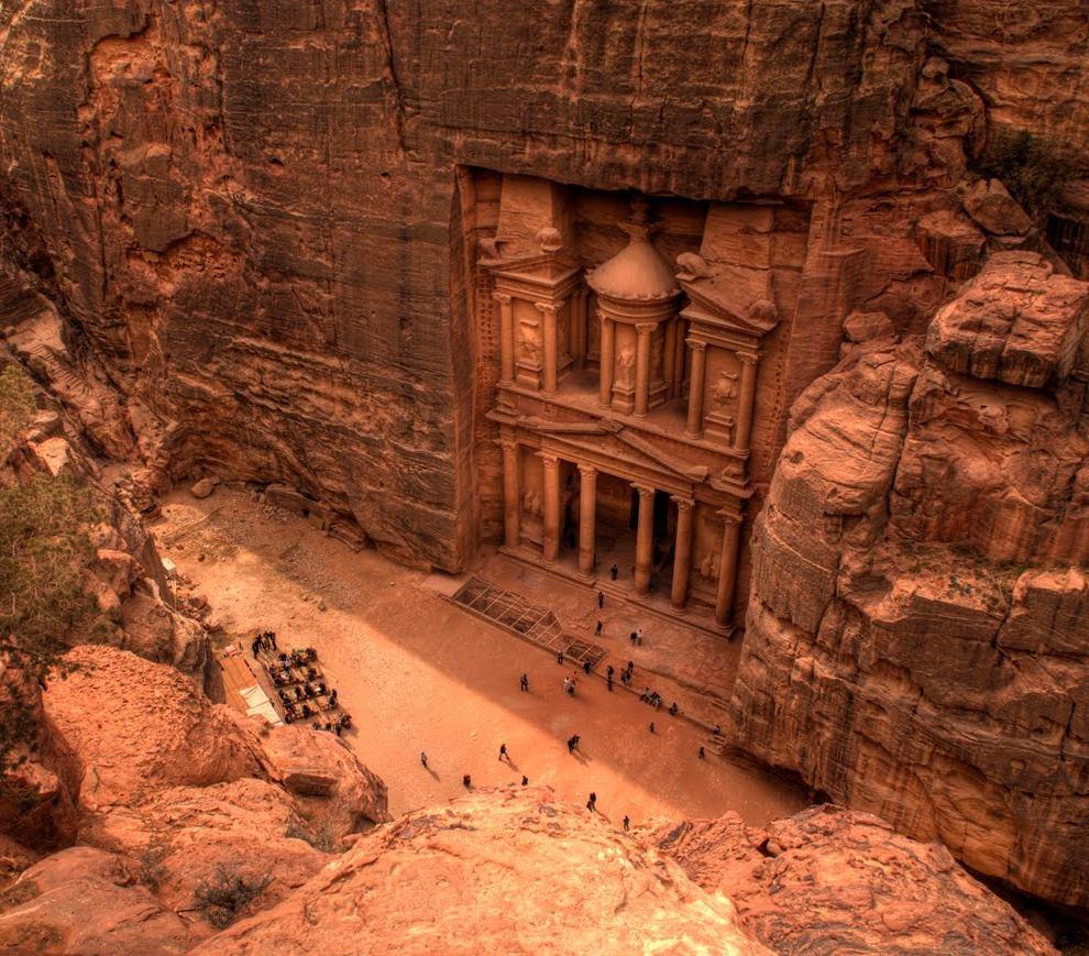 Храм-мавзолей Эль-Хазне, Петра, Иордания