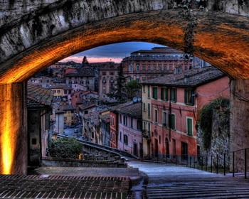 Город Перуджа, Италия