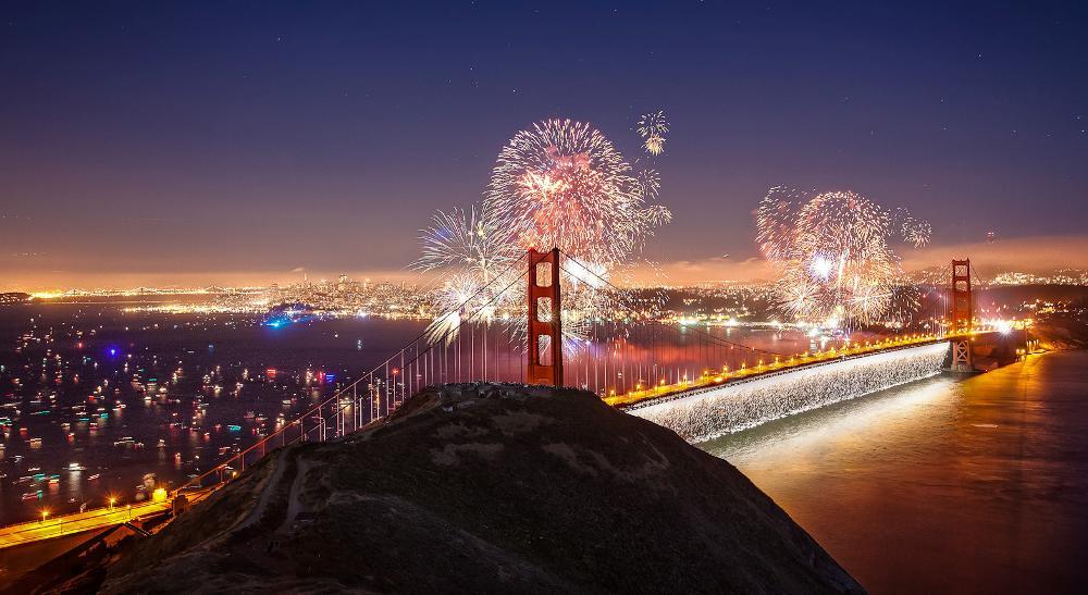 Мистический Мост Золотые Ворота (Сан-Франциско)