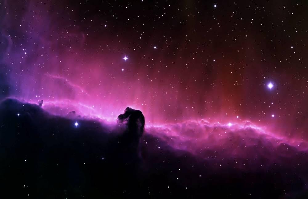 Потрясающий вид на туманность «Конская Голова»