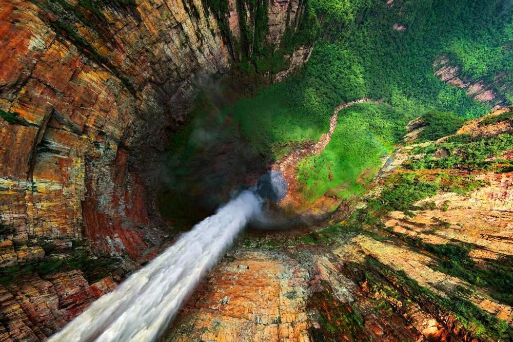 Анхель - «Водопад глубочайшего места», Венесуэла