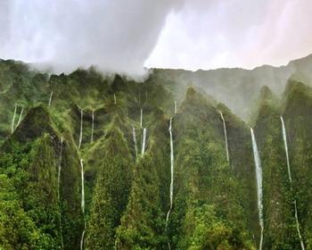 Оаху (O ahu) – остров тысячи водопадов