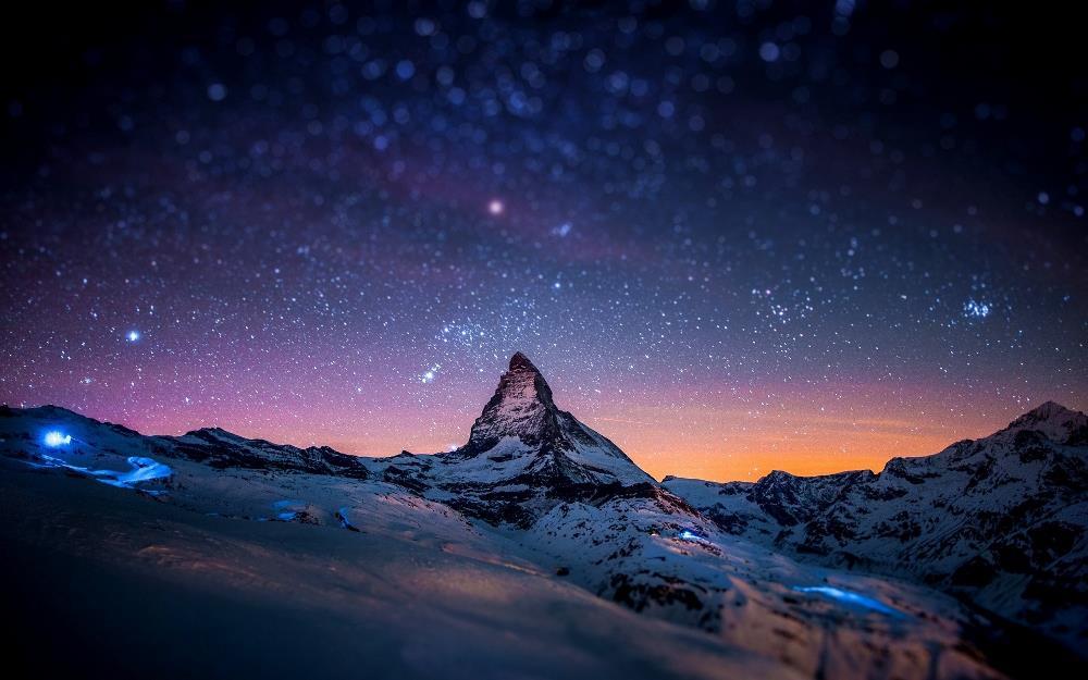 Гора Маттерхорн, Альпы