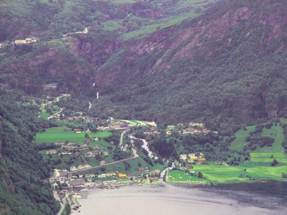Посёлок Гейрангер, Норвегия