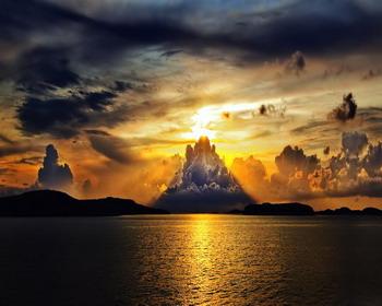 Великолепный закат, Швеция