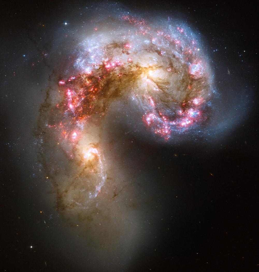 Галактики антенн (Antennae Galaxies)