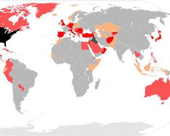 Военное присутствие США во всем мире