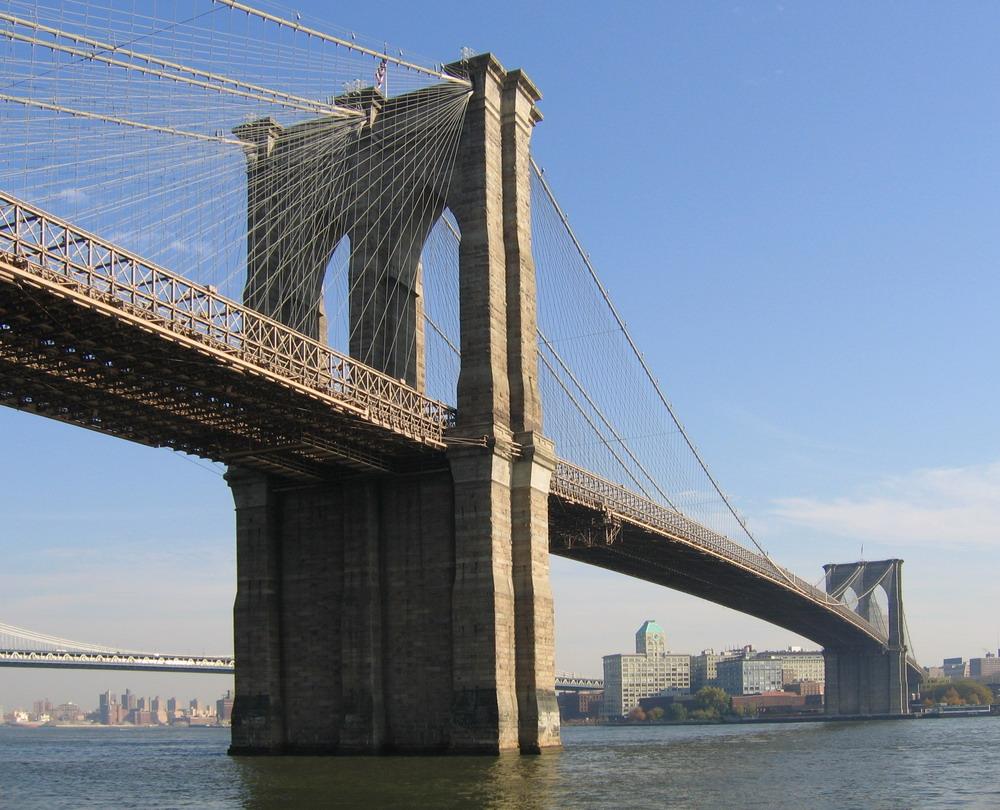 Бруклинский Мост, взгляд из далекого 1905 года