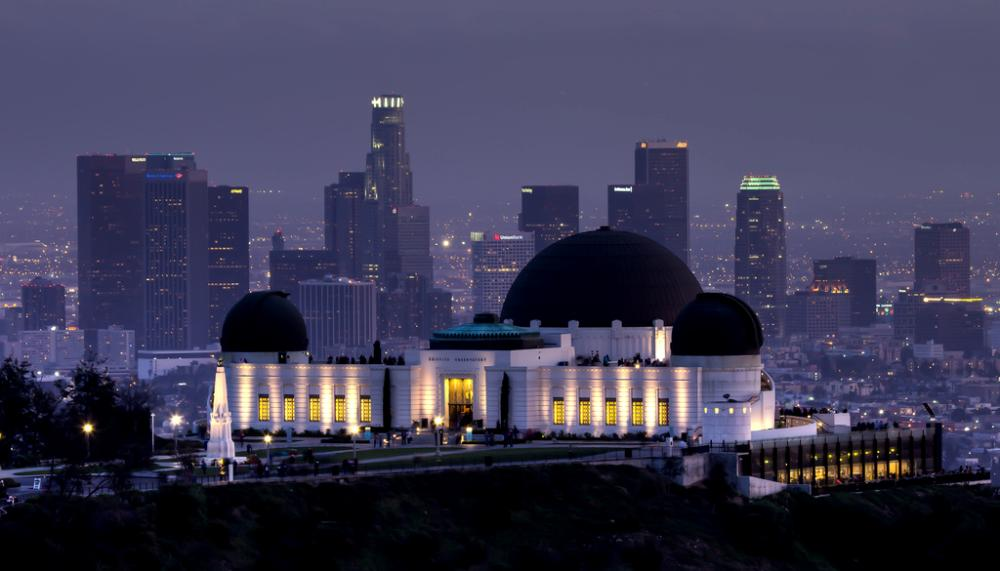 Обсерватория Гриффита, Лос-Анджелес, Калифорния, США
