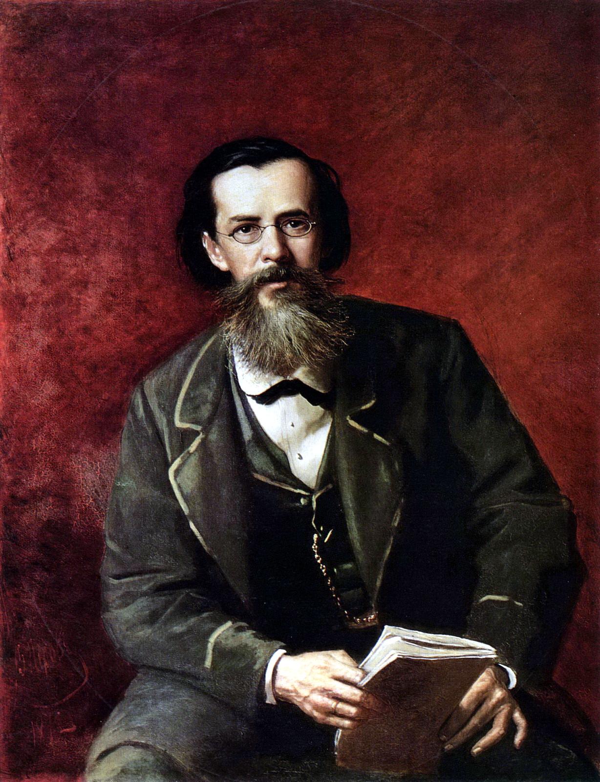 В. Перов Портрет А. Н. Майкова, 1872