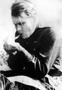 Александр Твардовский на фронте, 1943 год