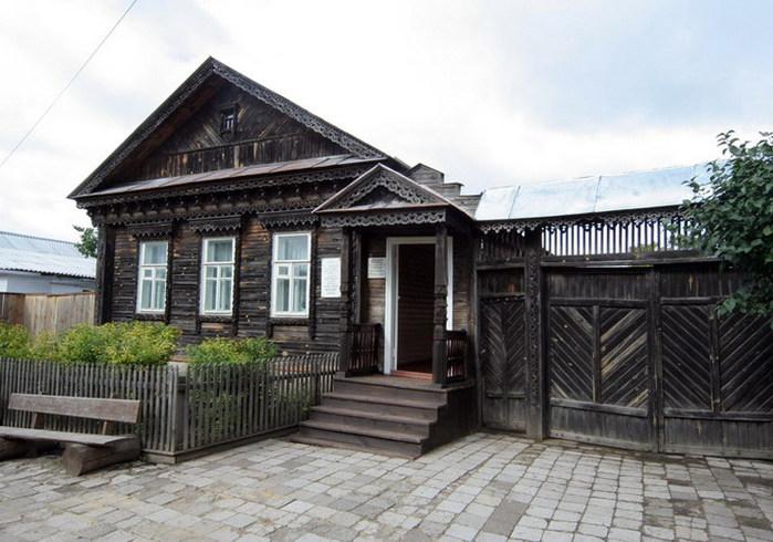 Дом-музей Куприна в Пензе. июль 2007г