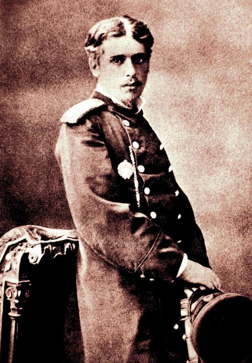 Н.Г. Михайловский при выпуске из ИИИСа. 1877 г.