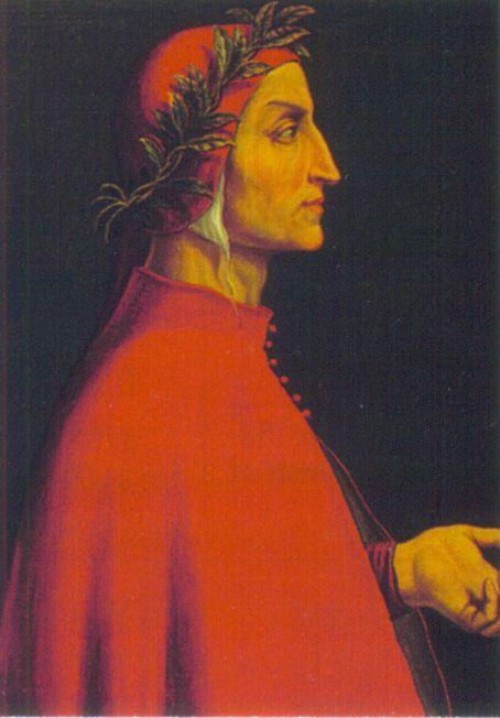 Алигьери Данте (итал. Dante Alighieri, полное имя Дуранте дельи Алигьери)
