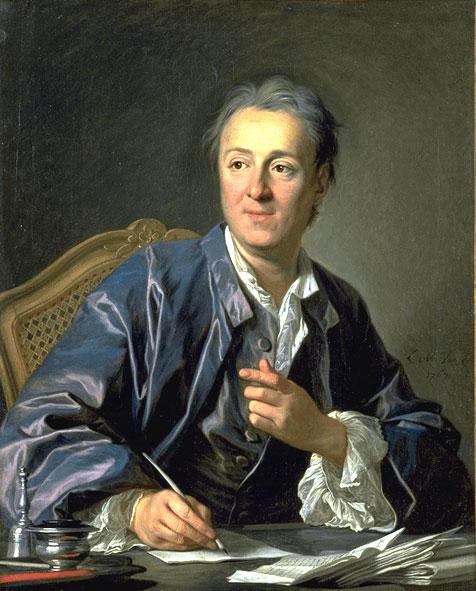 Портрет Дени Дидро работы Луи-Мишеля ван Лоо (1767)