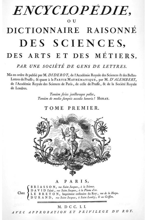 Титульный лист энциклопедии