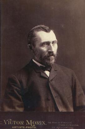 Винсент Виллем Ван Гог (нидерл. Vincent Willem van Gogh). Фото 1889 года