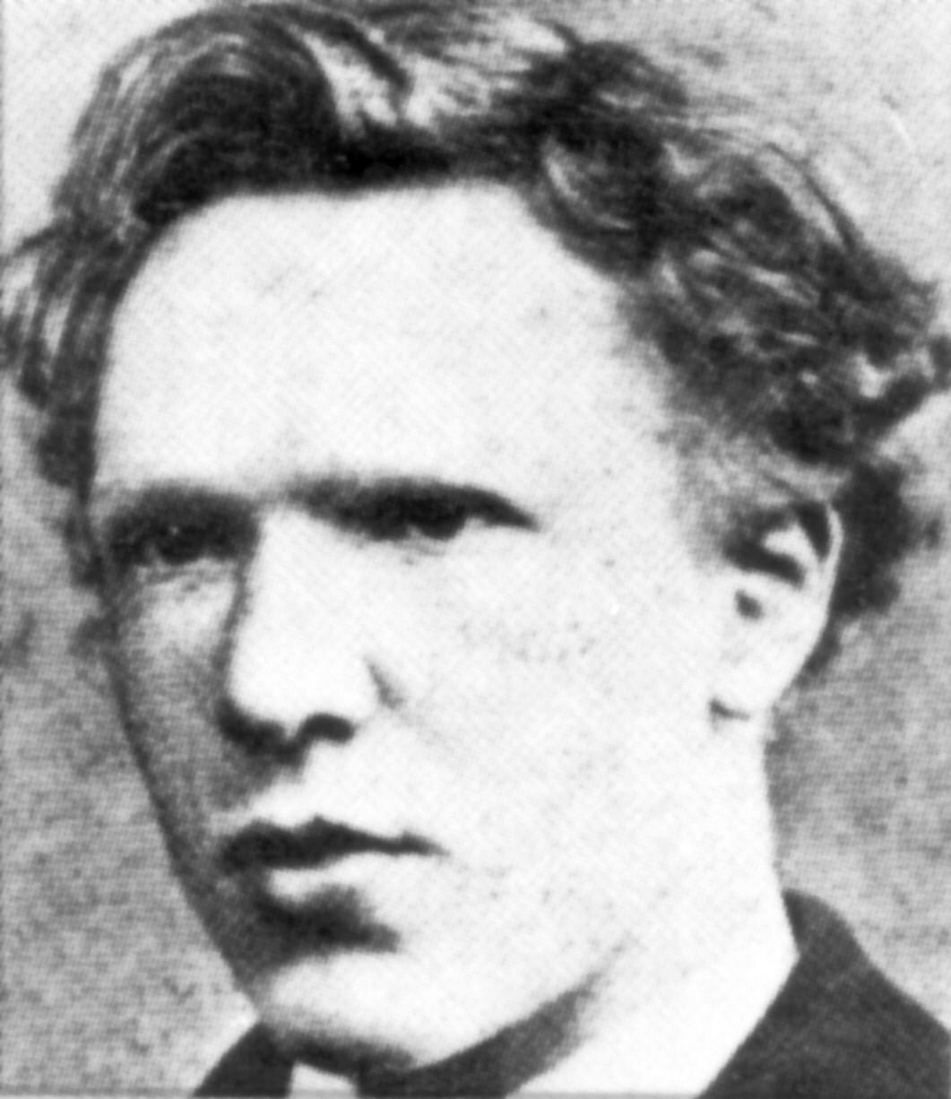 Ван Гог в возрасте 18 лет (ок. 1871—1872)