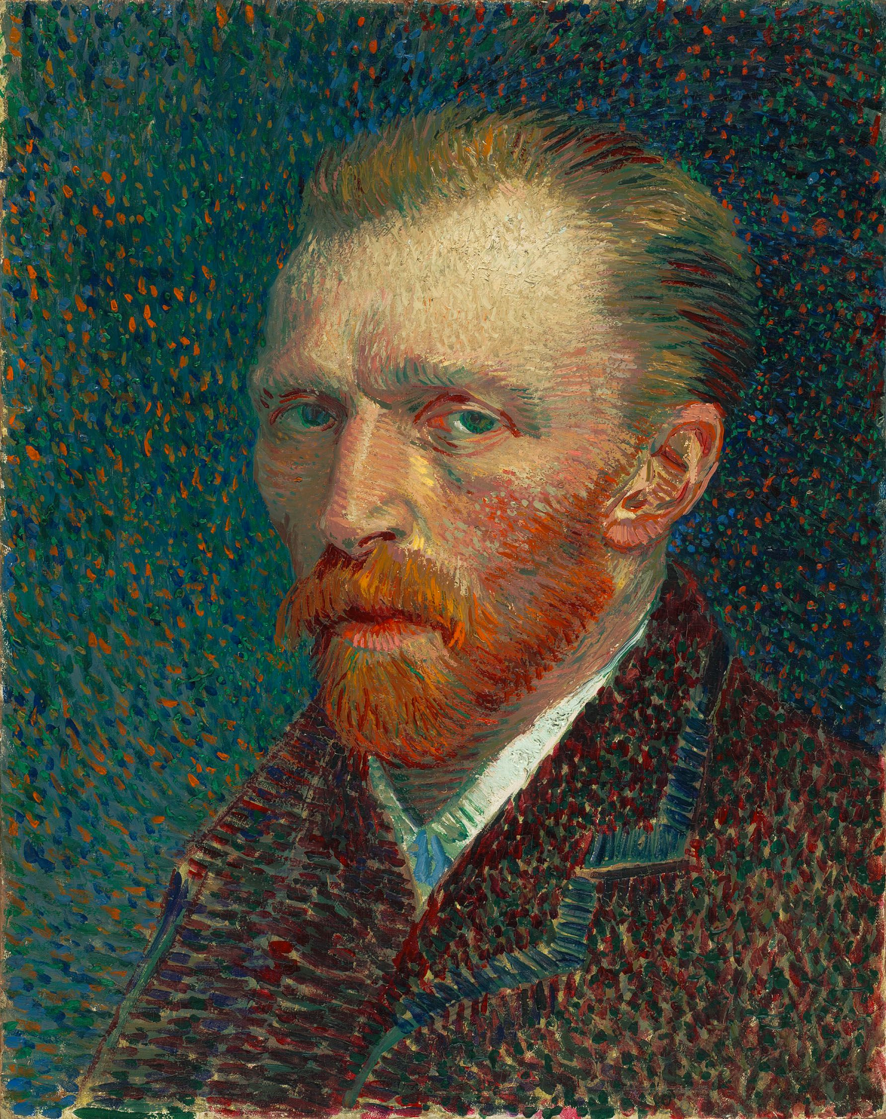 Винсент Виллем Ван Гог (нидерл. Vincent Willem van Gogh). Автопортрет 1887 года