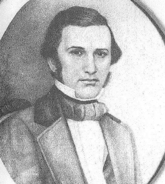 Константин Ушинский в 1840-е годы