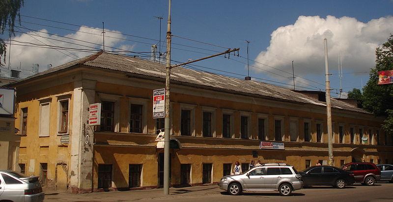 Дом, в котором Ушинский жил в Ярославле