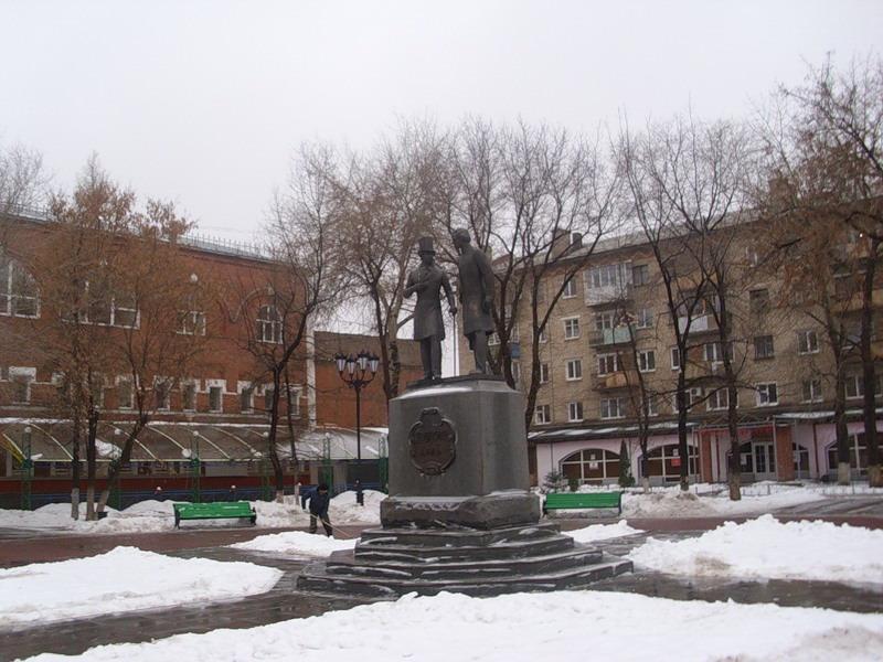 Пушкин и Одоевский.