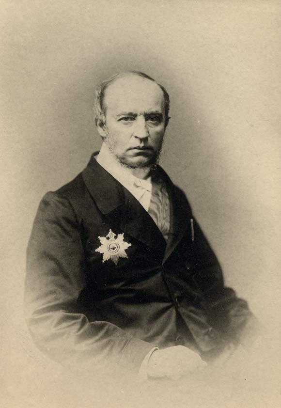 Владимир Фёдорович Одоевский (Vladimir Fjodorovich Odoevskij). Литография П.Бореля