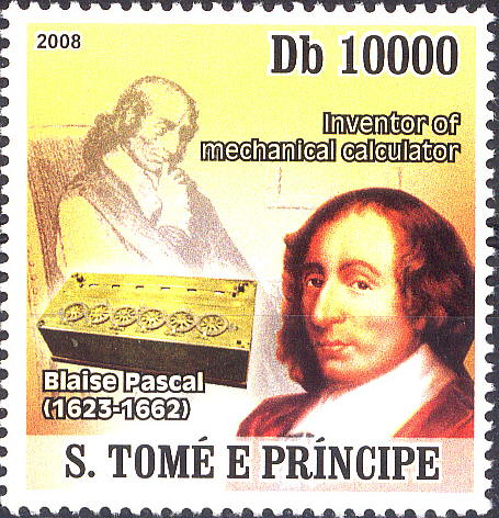 the contributions and achievements of blaise pascal Blaise pascal's chief accomplishments included the invention of a mechanical calculator, the development of pascal's triangle and the refutation of the belief in the impossibility of vacuums.
