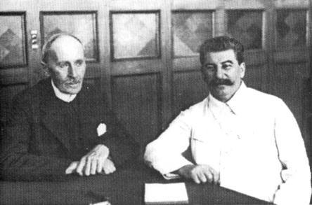 Ромен Ролан на приеме у И.В.Сталина. 1935 г.