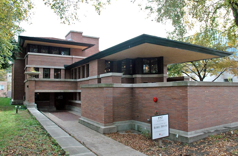 Фрэнк Ллойд Райт (англ. Frank Lloyd Wright). Дом Роби