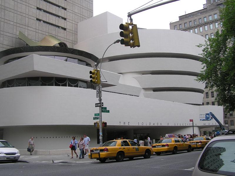 Фрэнк Ллойд Райт (англ. Frank Lloyd Wright). Музей Гуггенхайма в Нью-Йорке