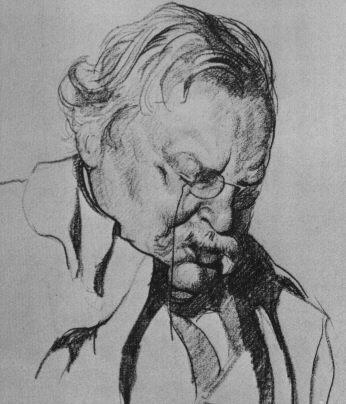 Гилберт Кит Честертон (англ. Gilbert Keith Chesterton)