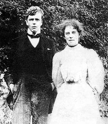 Гилберт и Фрэнсис после обручения