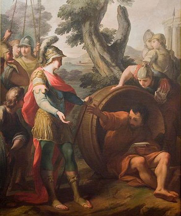 Пучинов М. И. *Беседа Александра Македонского с Диогеном*