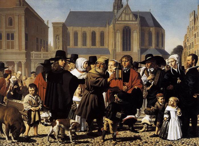 Everdingen Caesar. Diogenes Seeks a True Man 1652, The Hague, Mauritshuis