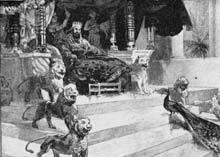 Третий царь Израиля - Соломон