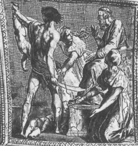 Суд Соломона. Фреска Рафаэля в Станца делла Сеньятура. 1509-11. Рим.Ватикан