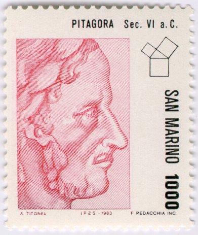 Пифагор Самосский (лат. Pythagoras)