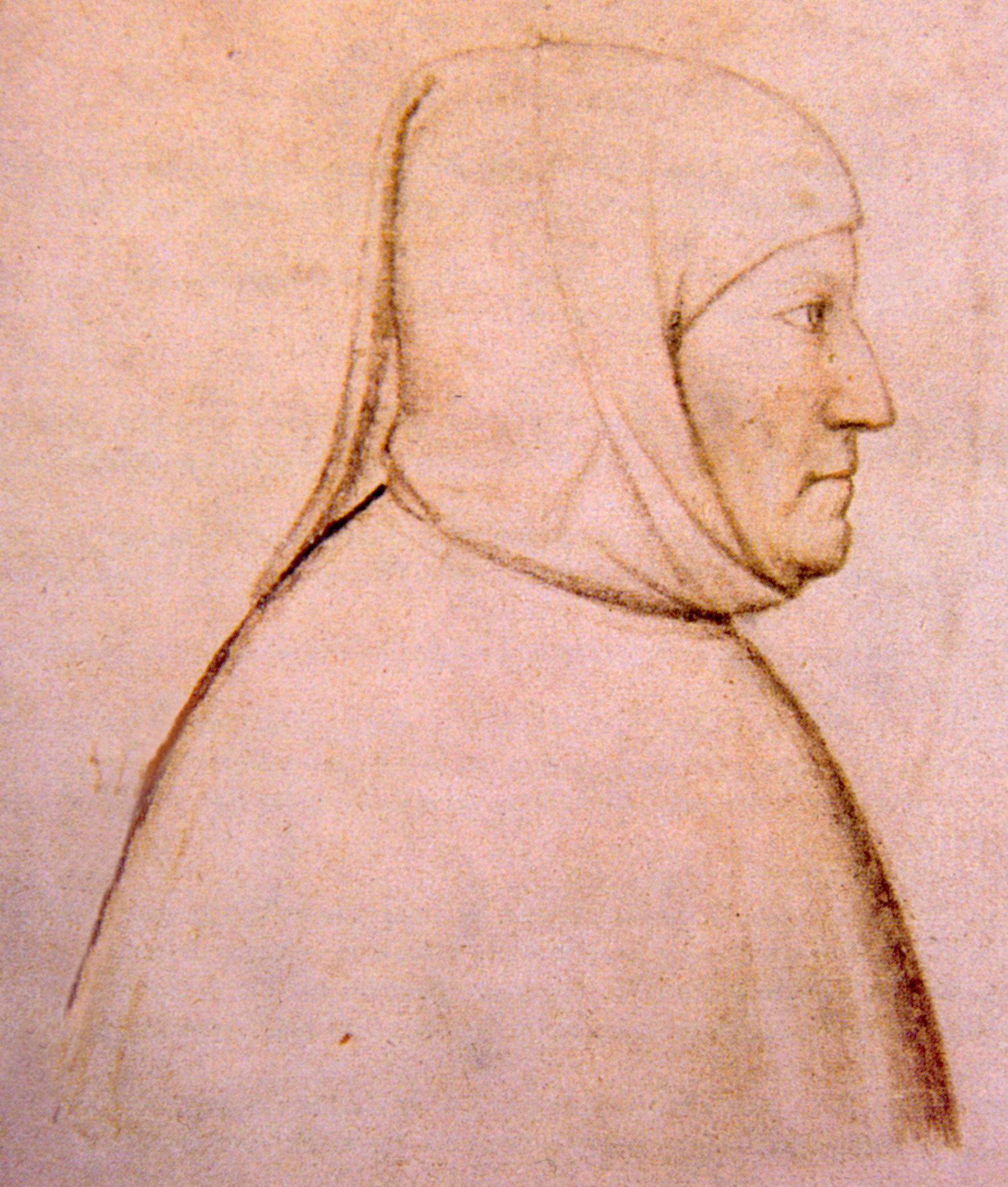 Альтикьеро да Дзевио, портрет Петрарки