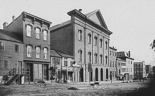 Театр Форда, где был смертельно ранен Линкольн